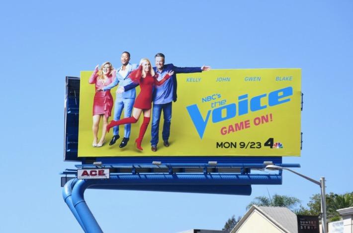 The Voice season 17 billboard