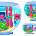 Fish Bowl Graphic Organizer of Addition and Subtraction of Fraction