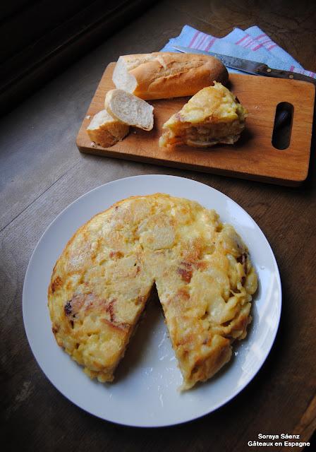 recette tortilla espagnole tapas
