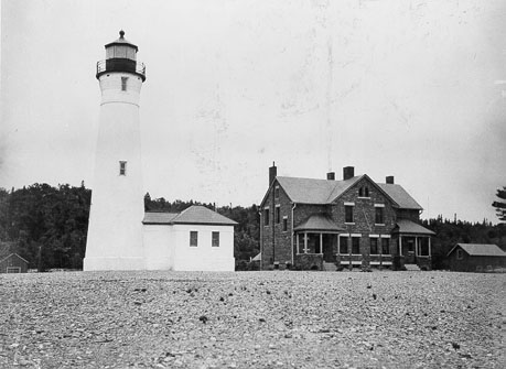 Crisp Point Lighthouse, Lake Superior, Luce County, Michigan