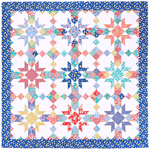 Spring Palette Quilt Inspired by: Swing into Spring from, designer Jessica Dayon, for All People Quilt