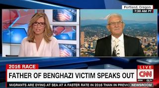 Benghazi Victim's Father Flips Script When CNN Asks Him About Trump And Khizr Khan (Video)