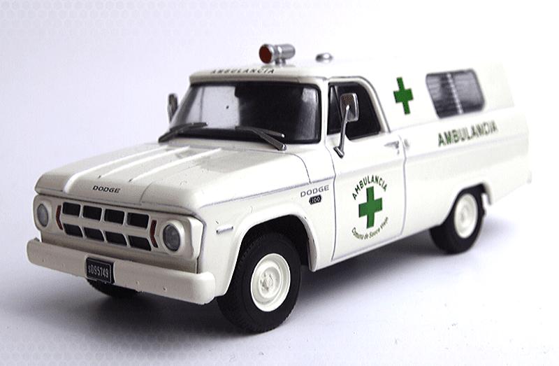 dodge d100 ambulancia salvat