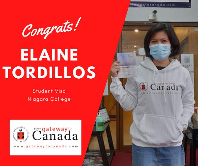 Elaine Tordillos - Niagara College