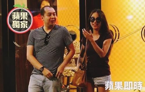 Anak  Najib di Taiwan bersama aktres Taiwan?