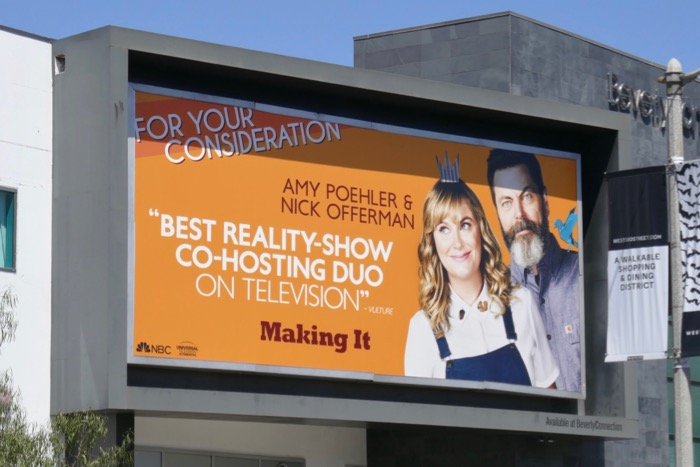 Making It 2019 Emmy nominee billboard