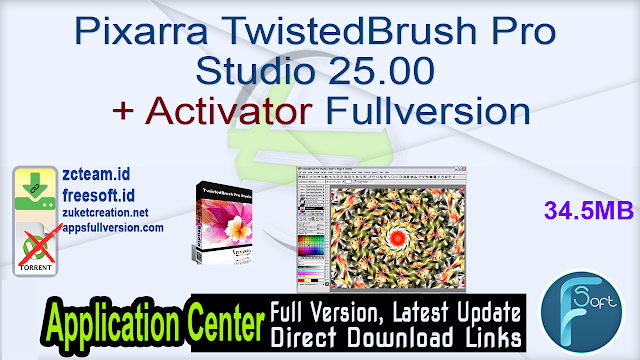Pixarra TwistedBrush Pro Studio 25.00 + Activator Fullversion