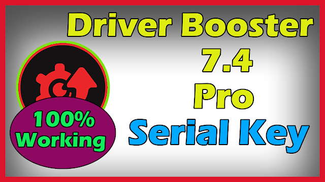 Driver Booster 7 Pro Key