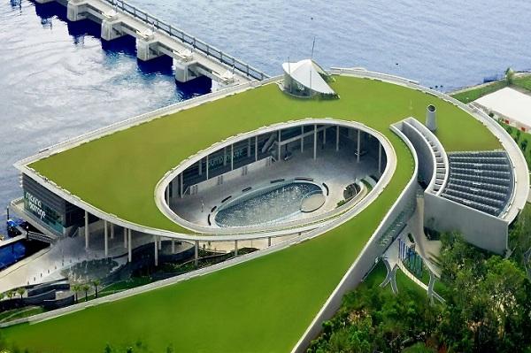 Marina Barrage - Kiệt tác khổng lồ của đảo quốc Sư Tử