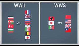 Perang Dunia Pertama Dan Kedua / World War One and Two