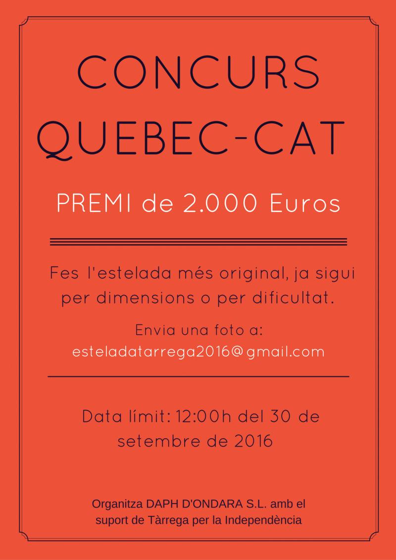 Concurs QUEBEC-CAT