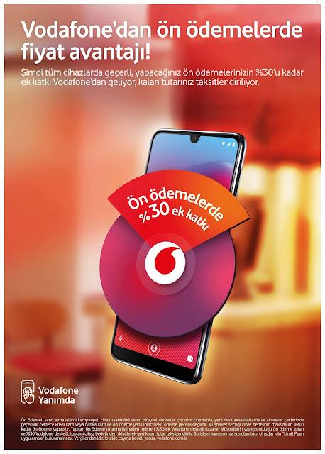 Vodafone cep telefonu ücretlerinin bir kısmını ödeyenlere ...