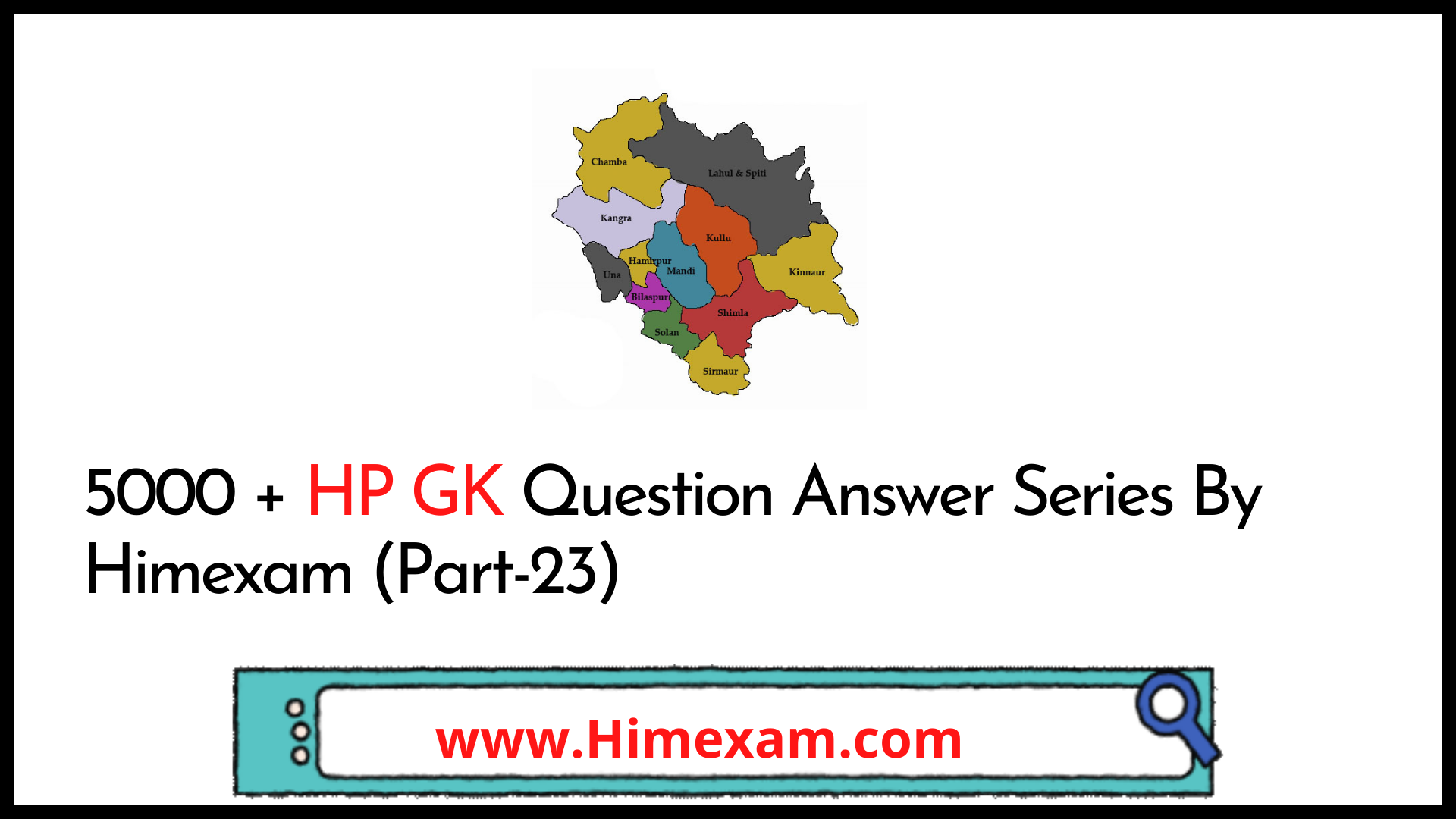 5000 + HP GK Question Answer Series By Himexam (Part-23)