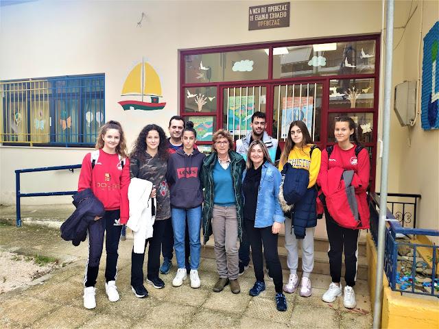 Πρέβεζα: Επισκέφτηκαν το ειδικό σχολείο και μοίρασαν χριστουγεννιάτικα εδέσματα και αντάλλαξαν χριστουγεννιάτικες ευχές με τους μαθητές