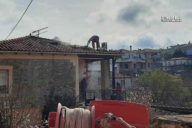 Δήμος Επιδαύρου και Πυροσβεστική απέτρεψαν τα χειρότερα σε φωτιά που εκδηλώθηκε σε σπίτι στο Αδάμι