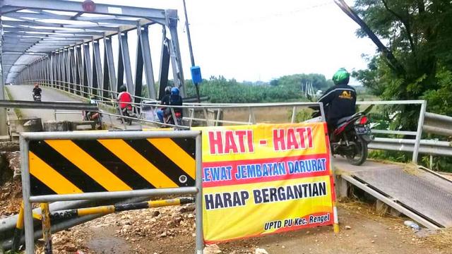 Fleksibel, Perbaikan Jembatan Glendeng Kabupaten Bojonegoro Dalam Tahap Lelang