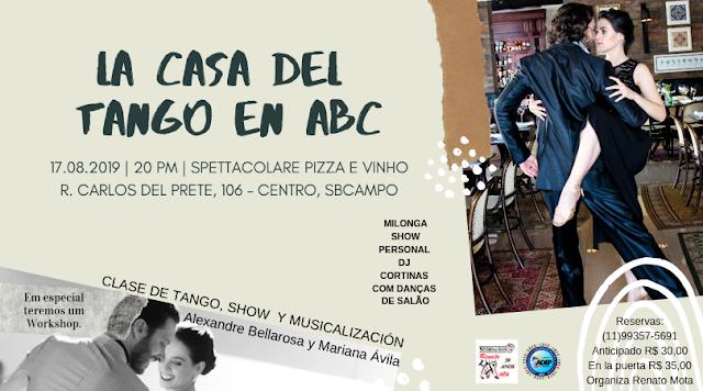 La Casa del Tango en Abc. 4º edição.