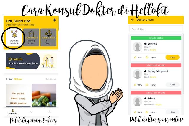 Aplikasi Kesehatan Hellofit