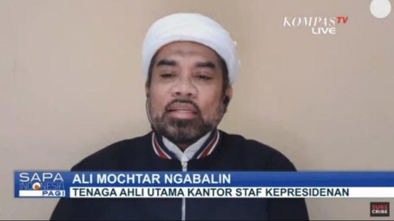 Ucap Duka ke Ustadz Maaher, Ali Ngabalin Positif Covid-19
