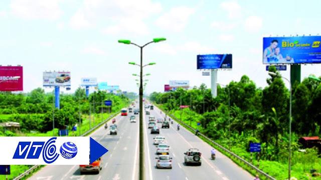 Banner đặt trên các cung đường cao tốc ngoài trời