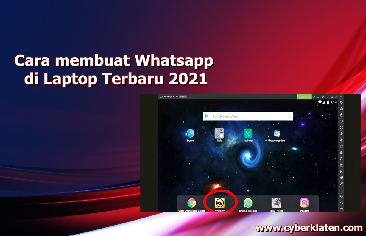 Cara membuat Whatsapp di Laptop