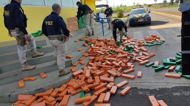 PRF encerra OTENARCO, operação de enfrentamento ao narcotráfico, no Mato Grosso do Sul