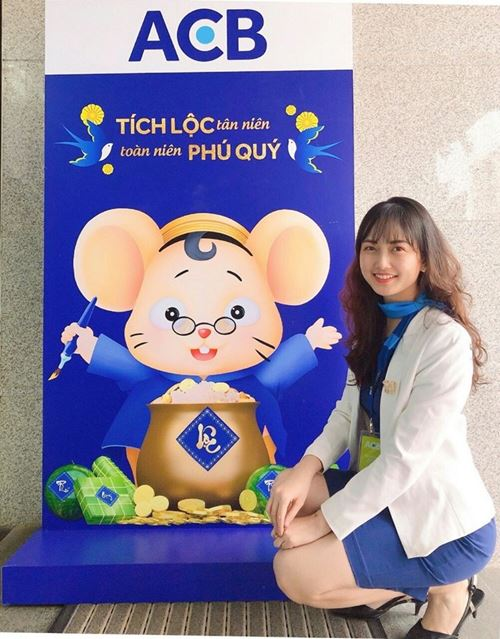 Nét đẹp nhân viên Ngân hàng Thương mại cổ phẩn Á Châu - ACB Bank