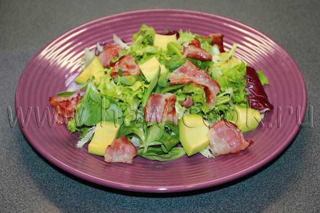 рецепт салата с авокадо от юлии высоцкой с пошаговыми фото