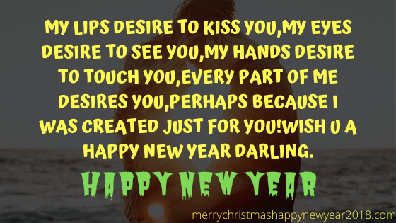 New Year Wishes Messages for Someone Special