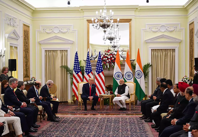 us-india defense deal,trump's india visit,modi-trump talks,defense deal