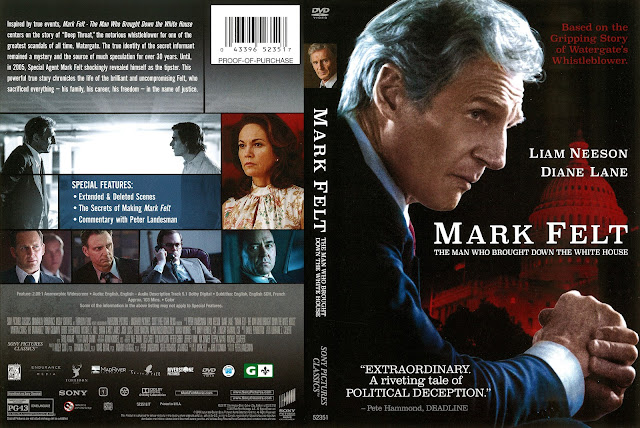Mark Felt DVD Cover