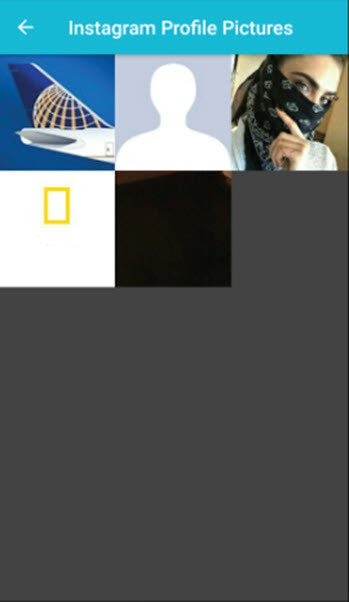 شرح تطبيق Insta Profile Pic Zoom & Save