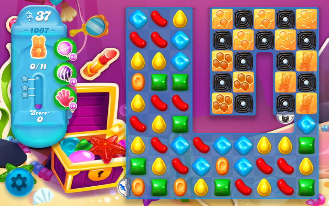 Candy Crush Soda Saga 1067