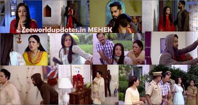 "Zee World Mehek 28th July 2019 Saturday Written Update Episode "" Mehek's Fake Drama Shaurya Reaches Locker ""."