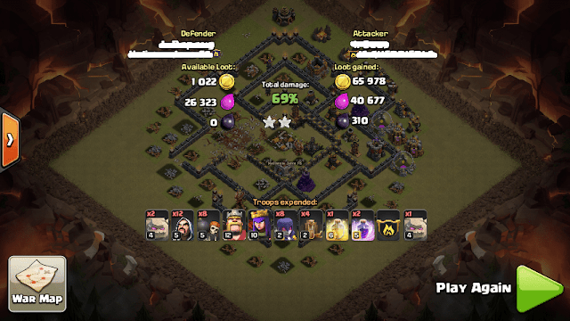 Formasi Base War TH 9 Terkuat di Dunia