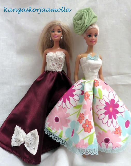 ompele barbille mekkoja