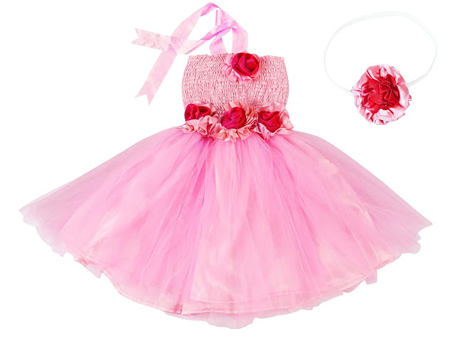 Little Princess Dress for born baby to 7 years girls