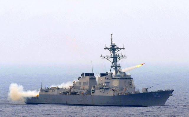 Tàu khu trục mang tên lửa dẫn đường USS McCampbell