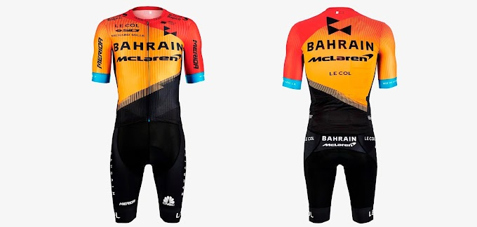 La plantilla del Team Bahrain McLaren 2020