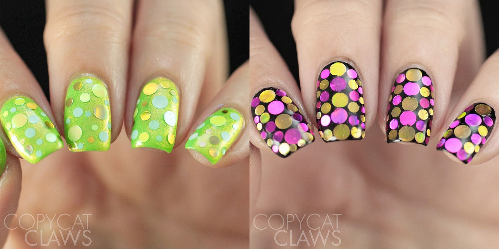 Copycat Claws: Whats Up Nails Margarita and Flower Confetti
