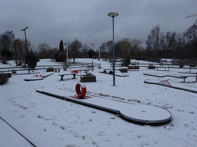 The Eternit Miniature Golf course at Solna Bangolfklubb in Sweden
