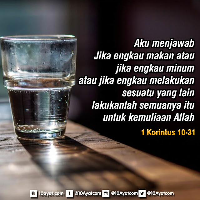 1 Korintus 10:31