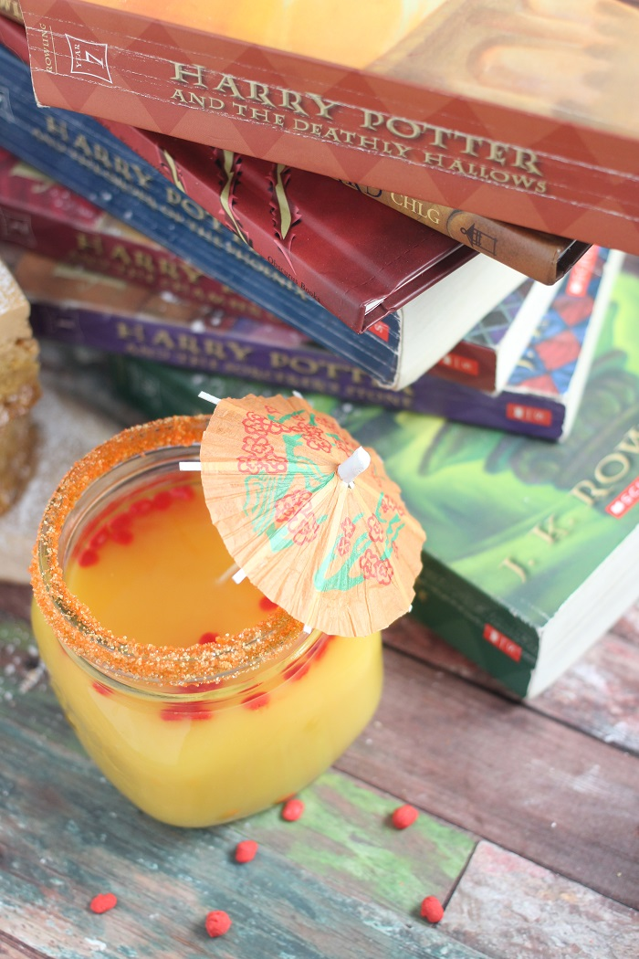 Molly Weasley's Cinnamon Sunset Cocktail Recipe