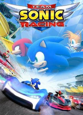 Capa do Team Sonic Racing