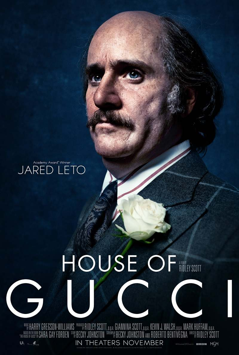 house of gucci poster jared leto