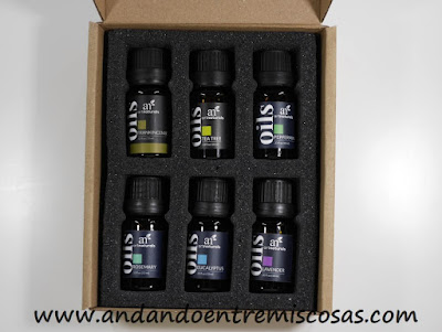 Aceites para aromaterapia