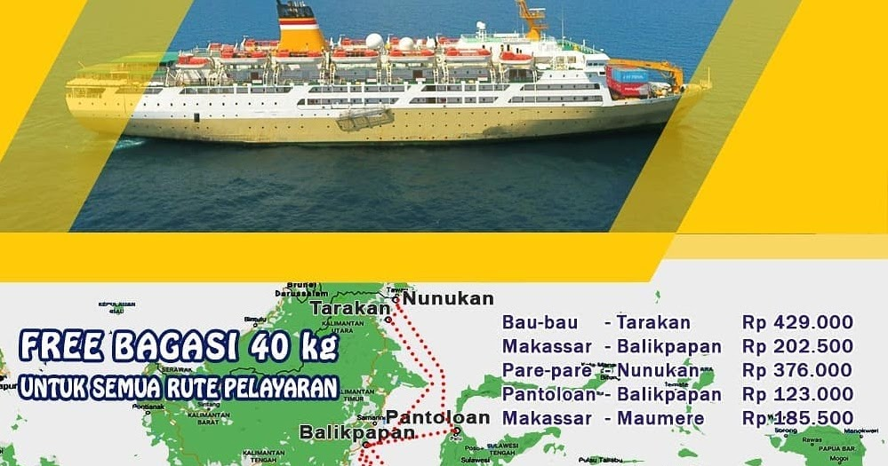 Jadwal Kapal Pelni Lambelu Desember 2020 Harga Tiket