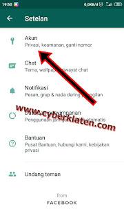Cara Mematikan Centang Biru di Whatsapp