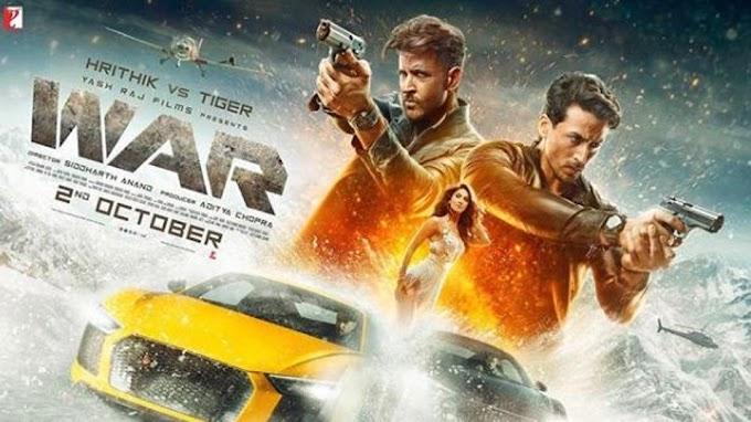 WAR (2019) Hindi Proper HDRip 720p 1.4GB – 700MB – 400MB – 200MB Download & Watch Online With ESub