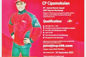 Loker Bandung Freelance Kurir J&T Cipamokolan